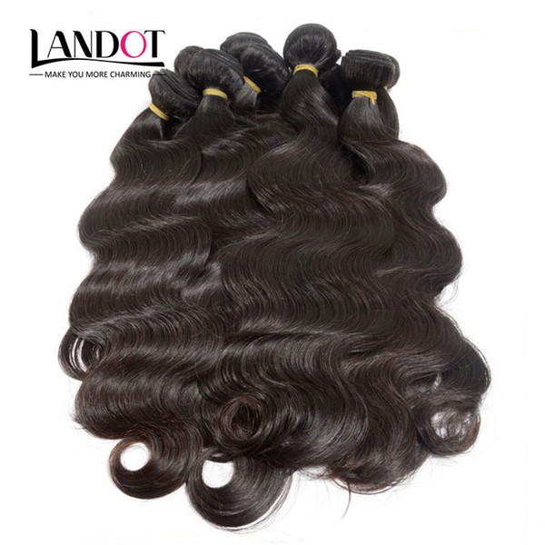 Wholesale Best 10A Brazilian Hair Body Wave 1KG/Lot Unprocessed Peruvian Indian Malaysian Cambodian Human Hair Weave Can Bleach 2 Years Life