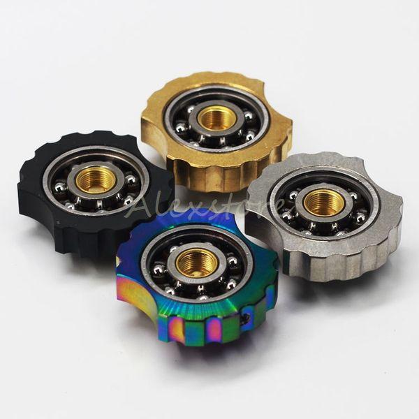 VAPE SPINNER Finger Spinner Fidget Toy Torqbar Atomizzatore Box Mod Parts 510 Connettore filo Extender 4 colori misura RDA RTA Pen