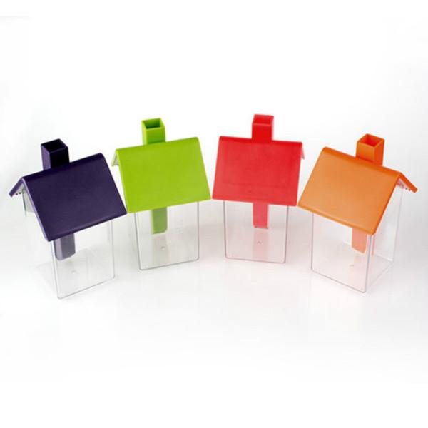 Contenitore di condimento dell'ABS di stile della casa all'ingrosso per sapore della spezia Sapore di caramella della frutta secca strumento creativo Contenitore di stoccaggio del condimento della casa di plastica