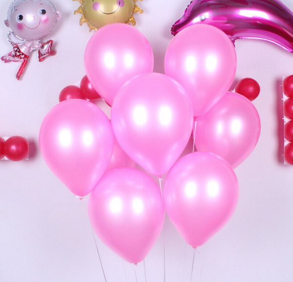 10'' 1.8g Colorful Pear Balloon Latex Thicken For Birthday Wedding Party Home Decoration Kids Toyer 17 Colors Mix Order 100PCS/LOT