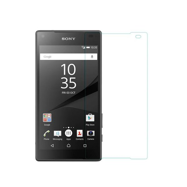 Explosion proof LCD Clear Tempered Glass Transparent Ultra thin Screen Protector Film For SONY Z5 Z4 Z3 Z2 Z1 Mini