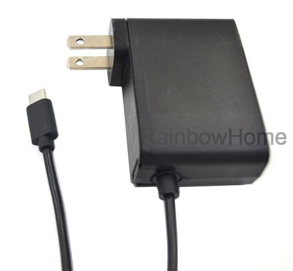 best selling Replacement AC Power Supply Adapter for Switch NS Game Console Travel Wall Charger Charging Adapter EU US Plug USB Type C