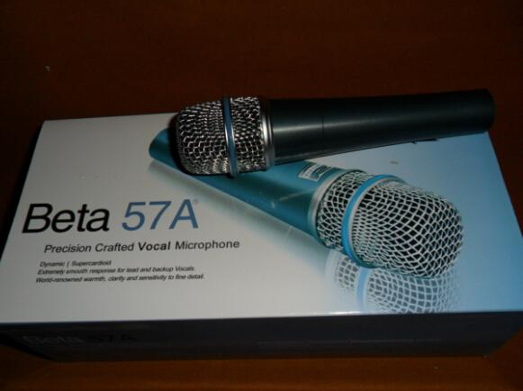 6pcs free shipping Beta 57A Beta57A Top quality version Clear Sound Handheld Karaoke Microphone Mike