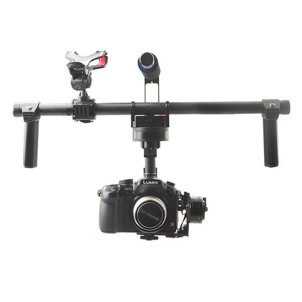 Großhandels-F16773 HG3D GH3 GH4 Nex 5N 5T 5R A5000 A6000 A7 Mini SLR FPV bürstenlose Hand Gimbal DSLR Kamera Halterung Stabilisator