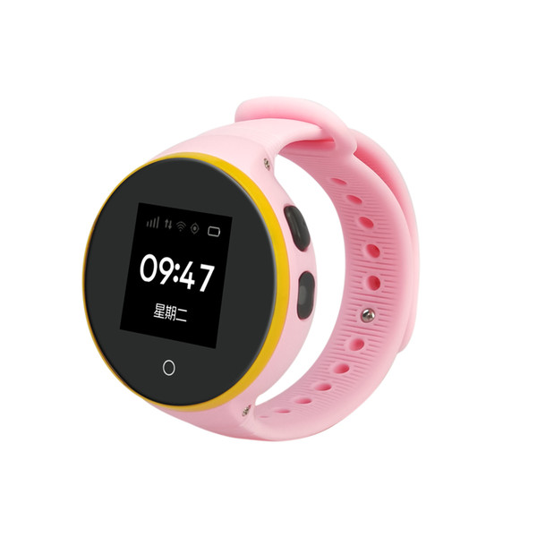 ZGPAX S669 GPS Watch Life Waterproof Round Screen Android Wristwatch Pedometer SOS Remote Monitoring For Kid Old Man Smart Phone Watch
