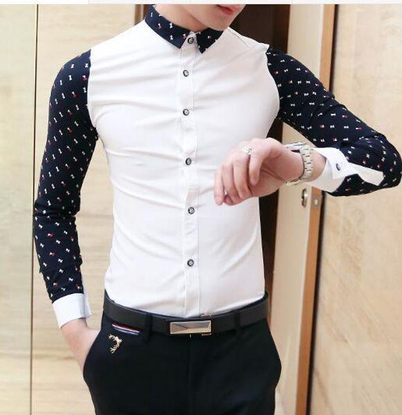 2019 Wholesale Hot New Spring 2016 Man Fashion Casual Shirtheart