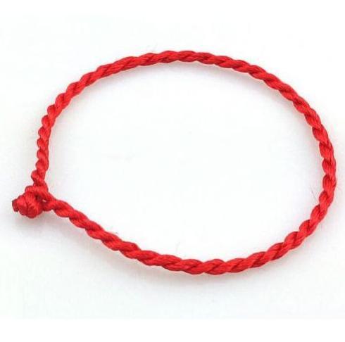 50pcs Red String Cords Lucky Bracelet Kabbalah Fatima Hamsa Bracelets lovers Gift NEW