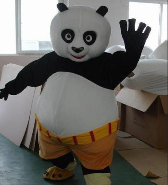 9cc5349e31b Fast Shipping Mascot Costume Kung Fu Panda Cartoon Character Costume Adult  Size Deluxe Halloween Costumes Elizabethan Costumes From Sincere_2018, ...