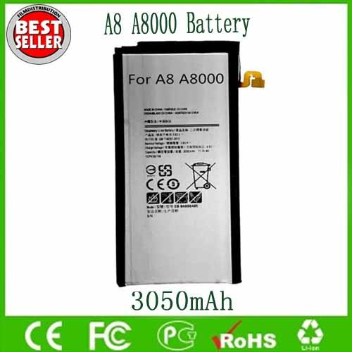 top popular Original OEM Battery EB-BA800ABE For Sam A8 A8000 A800F A800S A800YZ 3050mAh Free Shipping Wholesale 2019