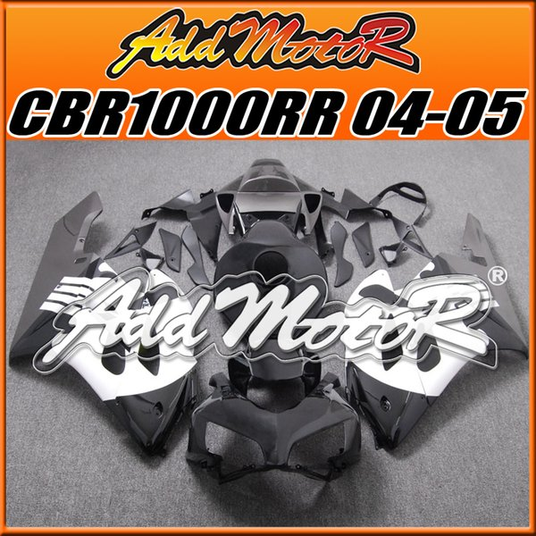 +Five Free Gifts!! Addmotor Best Selling Injection Mold Fairings Fit Honda CBR1000RR 2004 2005 CBR 1000RR 04 05 Body Work White Black H1459