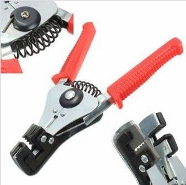 Envío libre DIY Marca Cable Automático Cable Pelacables Desbrozadora Crimper Alicates Que Cortan Herramienta Cortador Diagonal Alicates de Corte