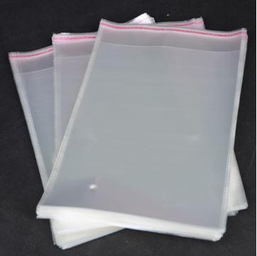 self adhesive transparent self-adhesive seal clear plastic opp bags for hair extensions 20*54cm and other size to choose free shipping A26