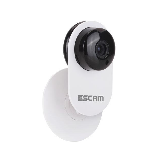 ESCAM 3.6mm Lens Ant QF605 WIFI 720P P2P Cámara IP Cámaras de vigilancia compatibles con Android IOS para el hogar Empresa