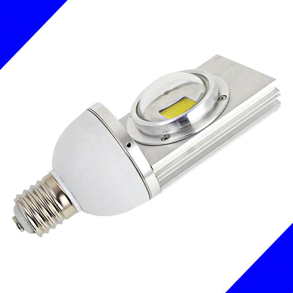 Vente en gros - 30W COB LED Réverbère E40 / E27 base AC85-245V Entrée de tension 3000lm haute luminosité projecteur à led 50 000 heures de durée de vie