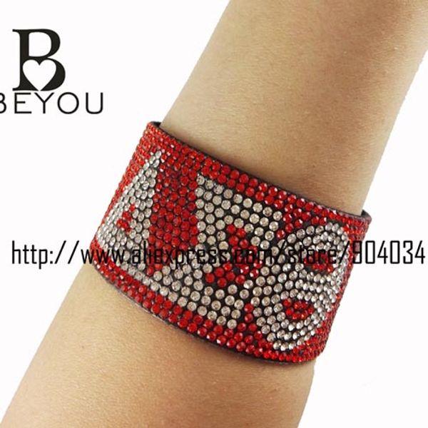 Atacado-Delta Sigma Theta Sorority Jóias Para As Mulheres De Cristal Pulseira Pulseira mulheres jóias magnética fivela pulseira MULHER pulseira