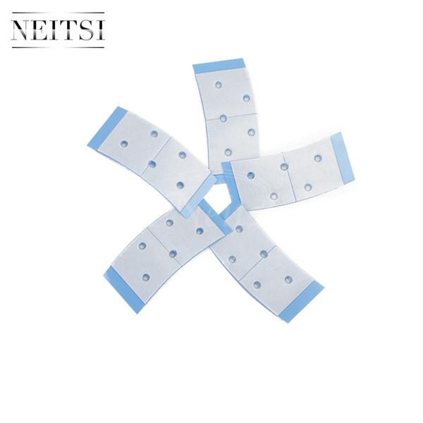 Neitsi 18pcs/bag Entenda-Bond Mini Blue Short Tape Adhesive Double Side US Walker Tape For Lace Wigs & Toupees Fast Shiping