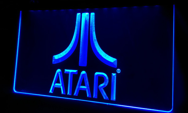 LS364-b Atari Game PC Logo Gift Neon Light Sign Decor Free Shipping Dropshipping Wholesale 6 colors to choose