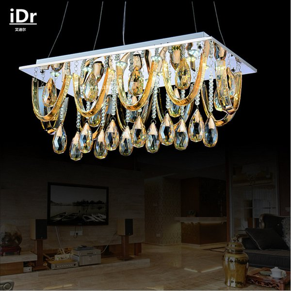 Modern Fashion Brief Style Crystal Lamp Chrome Ceiling Lights Hallway Light Fixtures Bedroom High Quality