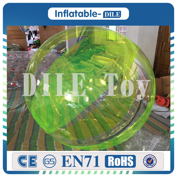 DHL free shipping clear water balloons,water rollers,inflatable pool and water walking ball Inflatable Recreation 1.3-2M ballet dance ball