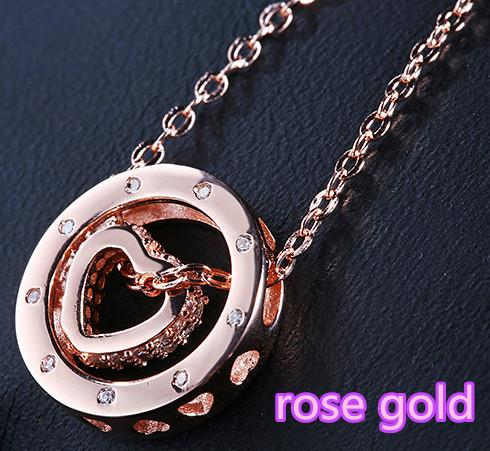 rose gold +chains