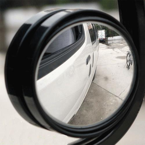 Wholesale-Newest 50cm auto rear view mirror new Driver Sides car mirror wide angle round convex mirror blind spot mirror styling