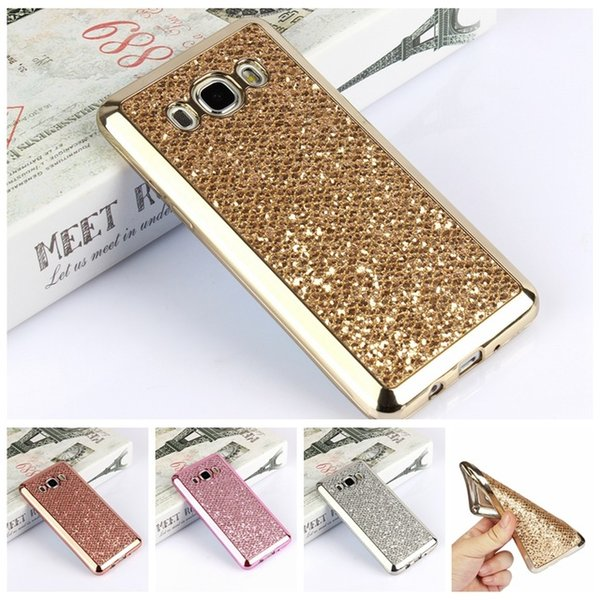 Luxury Glitter Bling Silicone Case For Samsung Galaxy S4 S5 S6 S7 Edge S8 A5 A3 2016 J5 J7 2017 J2 Prime Grand Neo Plus Cover
