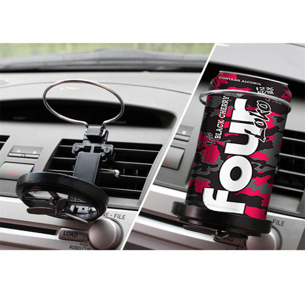 best selling Universal Car Truck Vehicle Air-Outlet Folding Drink Bottle Cup Holder Stand Free Shipping
