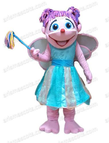 AM0519 Adult Size Princess Abby Caddby Mascot Costume Cartoon Mascot Costumes for Kids Birthday Party Custom Mascots at Arismascots Characte