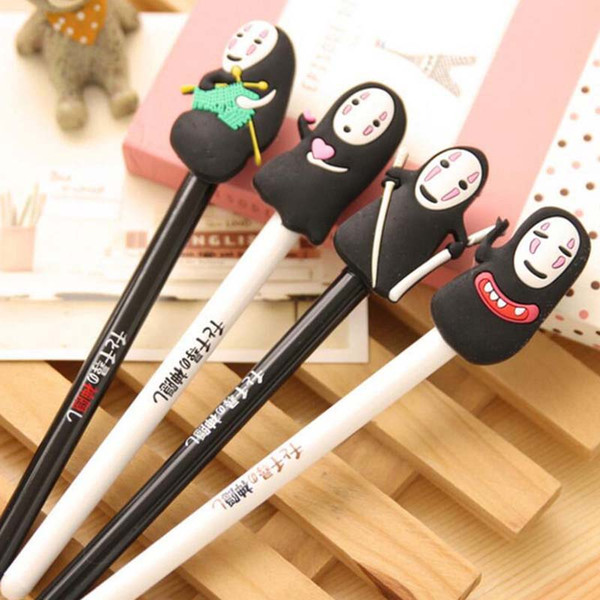 Fashion 20pcs/Lot Cartoon Gel Pens Cute Pen for Writting Office Supply Stationery Student Child Christmas Present Gift Prize
