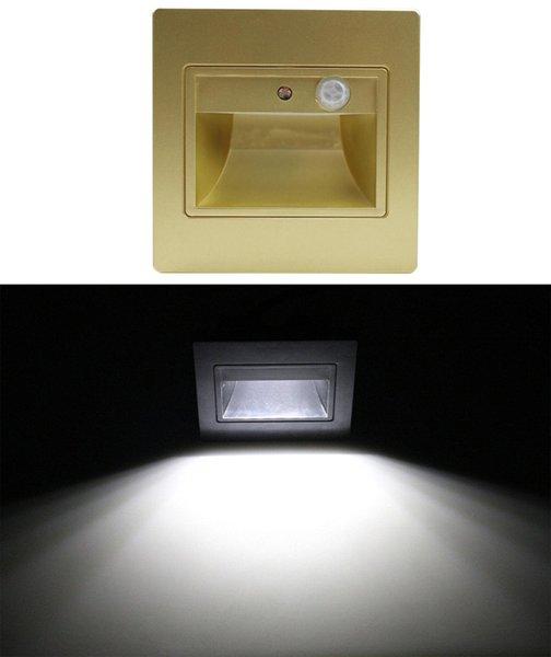 Gold white lights