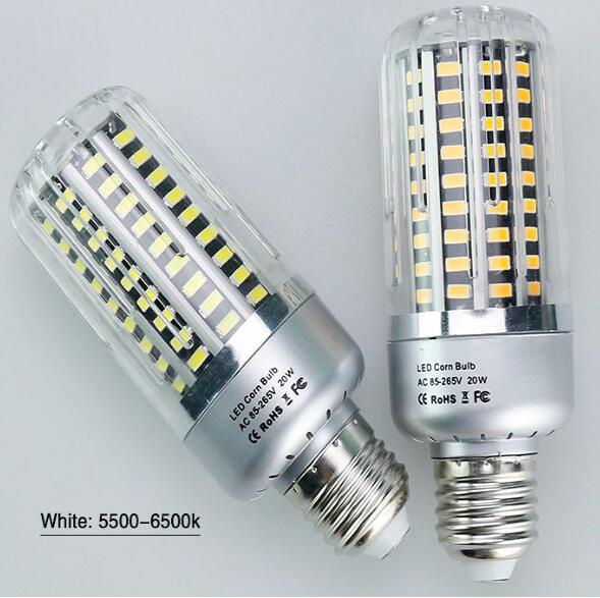 SMD 5736 Led Bulb 5W 10W 15W 20W 25W E27 E14 Led Lamp 85-265V Diode Lamps No Flicker Bombillas Led Candle Lights