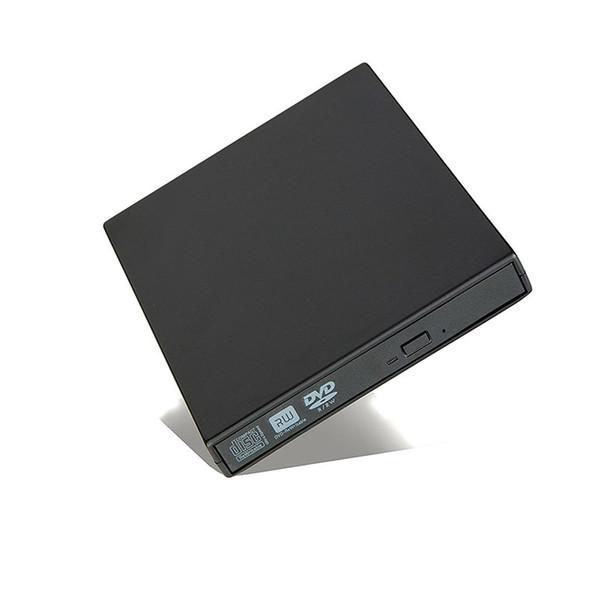 Lecteur DVD externe Lecteur USB 2.0 Lecteur DVD-ROM Lecteur de CD / DVD-RW Lecteur Graveur Enregistreur Portatil pour Windows Mobile PC