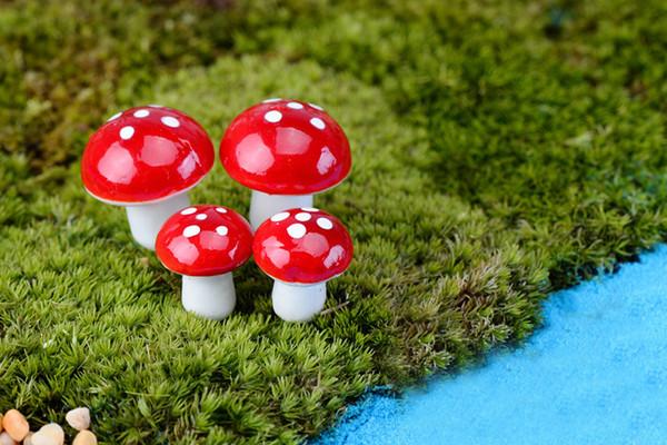 Colorido mini jardín de hadas de hadas miniaturas gnomo musgo terrario decoración artesanías de plástico bonsai jardín de su casa ornamento para DIY Zakka