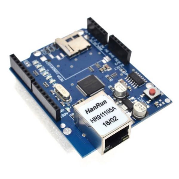 Ethernet W5100 Ağ Geliştirme Kurulu Modülü Arduino için SD Kart Genişleme Kurulu