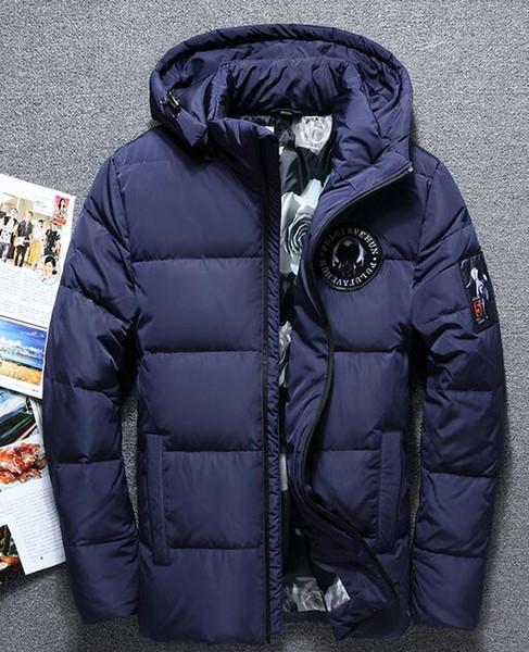 Großhandel Großhandel Einzelhandel Eine Neue Winter Ausgabe Der Koreanischen Herren Daunenjacke Mit Einem Langen Wintermantel Von Degao998, $40.61