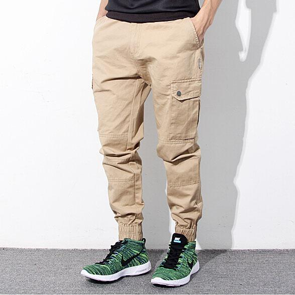 select for genuine enjoy bottom price 2019 original 2019 Wholesale Hip Hop Mens Skinny Cargo Pants Black Khaki And Blue Joggers  With Pockets On Side For Men Chino Pant From May512, $49.84 | DHgate.Com