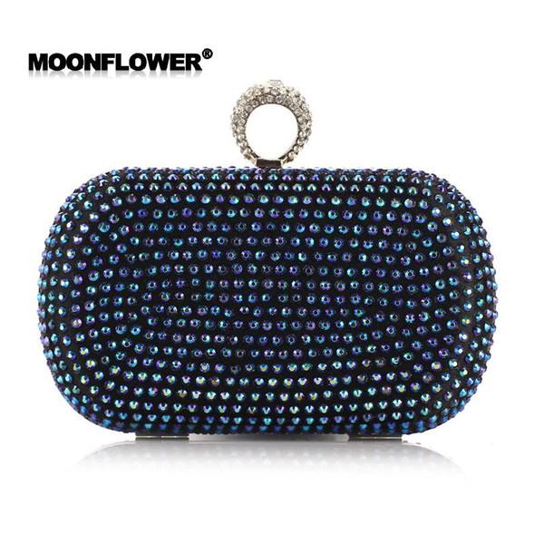 заводские продажи новый бренд сумка алмазный палец ужин сумка Корейский стразами процесс пакет ужин ручной мешок дамы сумка мини пакет