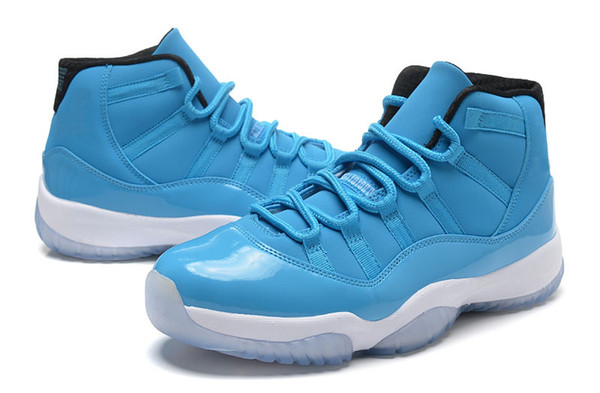 buy popular b3342 54544 2019 Bred Legend Blue 11 Retro 11 Basketball Shoes 2016 Gamma XI Sneakers  North Carolina Blue Basketball Shoes Discount Sports Shoes From Chinese ...