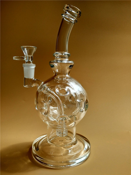 Sexy 9inches Eggosphere smoking Water pipe fab egg Glass Bongs With Matrix Perc Glass recyle dab Oil Rigs bong with 14mm Joint Hookah cheap