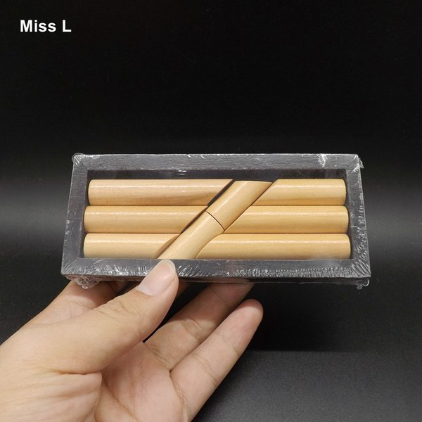 Eight Block Stick Magic Box Wooden Funny Game Immortal Cross The Sea Baby Gift Kid Toy