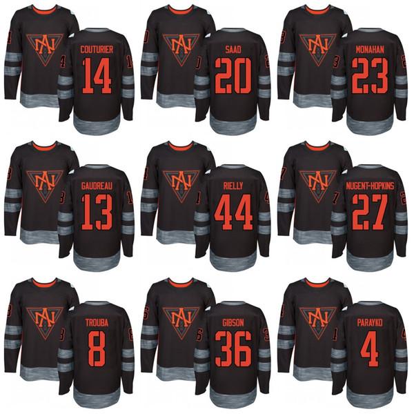 Hommes Amérique du Nord Sean Monahan Brandon Saad Sean Couturier Johnny Gaudreau Colton Parayko Coupe du monde de hockey 2016