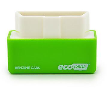 10 Pieces/lot High Quality Plug and Drive EcoOBD2 Benzine Chip Tuning Box Green Color Free Shipping