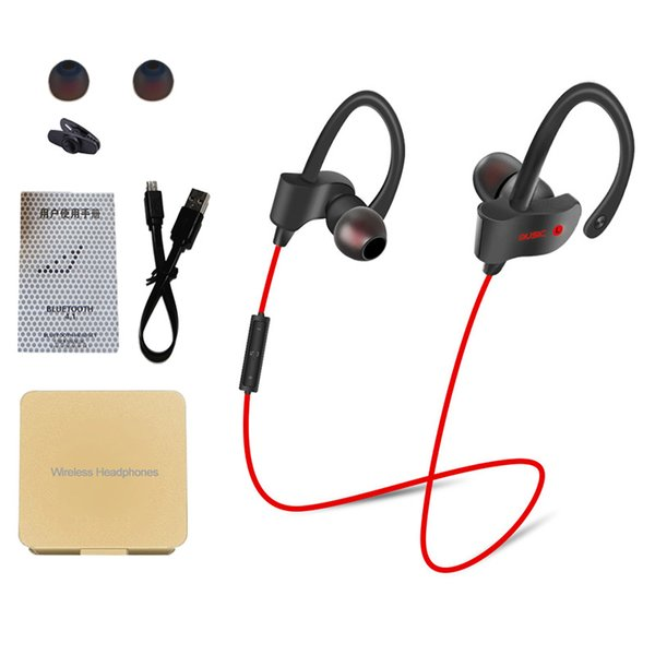56s Sport Wireless Bluetooth Earphones Stereo Earbuds Headset Headphones with Mic in-ear for iPhone 6 5s 6s 7 plus Samsung Xiaomi Phone