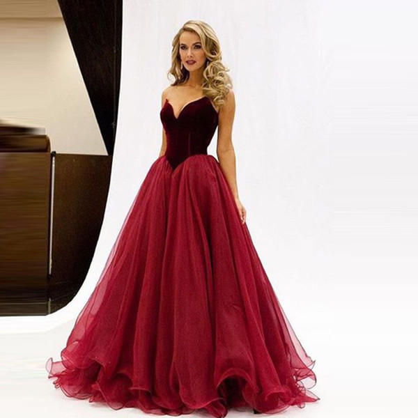 Drop Waist Evening Gowns 2018