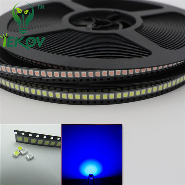 5000pcs 1210 3528 Blue LED SMD Ultra Bright Light Emitting diodes PLCC-2 High quality SMD/SMT Chip lamp beads Hot SALE