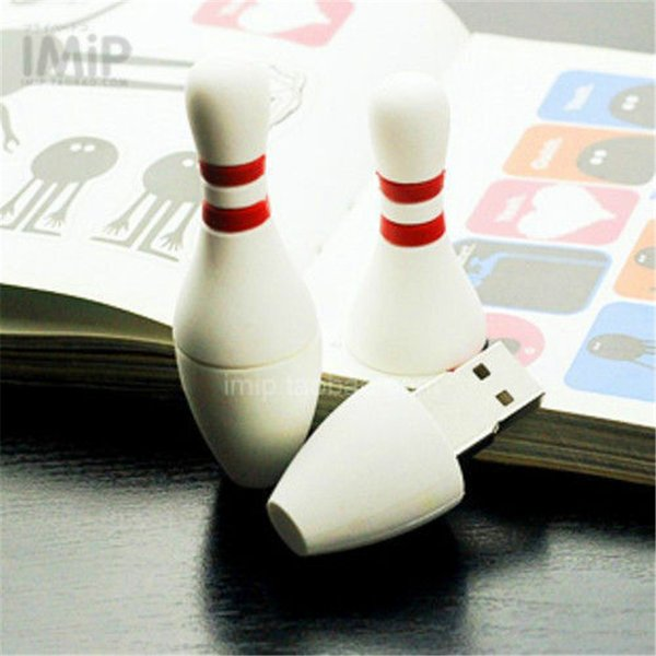 Cute Cartoon Bowling Model usb 2.0 flash memory stick pen drive 128GB 16GB 32GB 64GB 256GB real full genuine capacity
