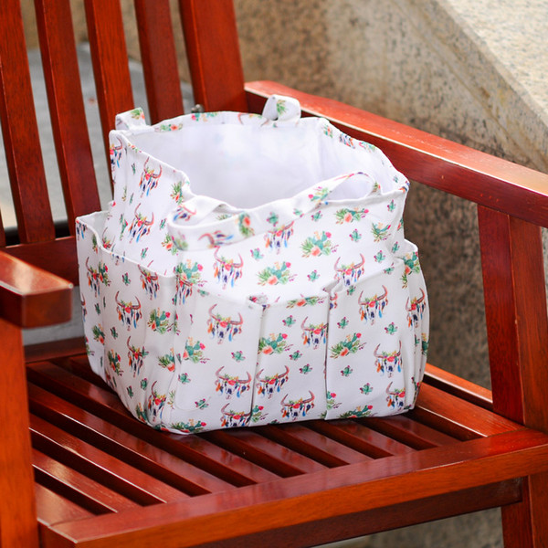 Bullskull Utility Bag Wholesale Blanks Garden Decorate Bag Cactus Boots Tool Hanging Tote Gift Toy Collection Bag DOM106659