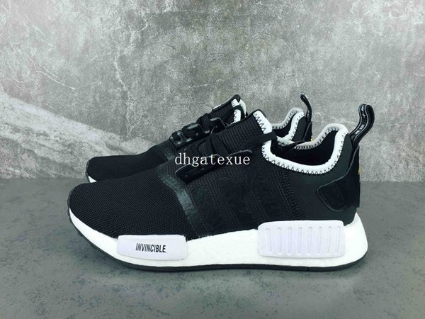 online retailer 55347 21234 Cheap Nmd R1 Pk Invincible X Neighborhood X Nmd Running Shoes Mens Womens  Nmd R1 Neighborhood High Quality Size 36 45 Come With Box Comfort Shoes ...