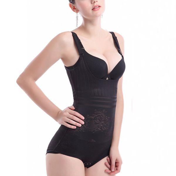 Venta al por mayor - Más tamaño Sexy Body de las mujeres que adelgaza la talladora del cuerpo Magia Correas ajustables Cintura de la panza Cincher