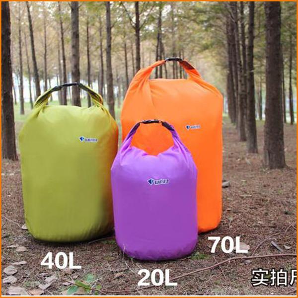 10L/20L/40L/70L Outdoor Waterproof Dry Bag Light weight Rafting Bag Folding Dry Bag for Outdoor Canoe Kayak Rafting Camping & Hiking Travel